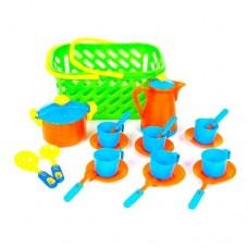 Посуда в корзине KW 04-437