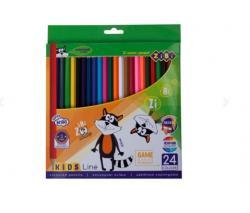Карандаши цветные 24 цвета  Kids Line  ZIBI ZB.2416