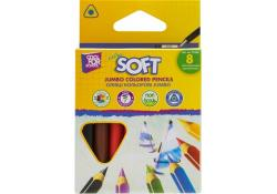 Карандаши цветные 8 цветов  Extra Soft  COOL FOR SCHOOL CF15165