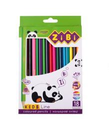 Карандаши цветные 18 цветов  Kids Line  ZIBI ZB.2415