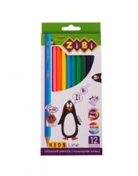 Карандаши цветные 12 цветов  Kids Line  ZIBI ZB.2414