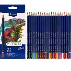 Карандаши цветные MARCO Chroma 24 цветов 8010 / 24CB