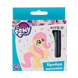Карандаши восковые 12 цветов  My Little Pony  Kite 40271