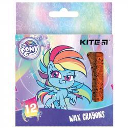 Карандаши восковые 12 цветов  My Little Pony  Kite LP21-070