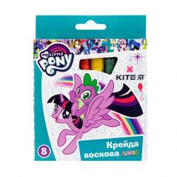 Карандаши восковые 8 цветов Jumbo  My Little Pony  Kite 40263