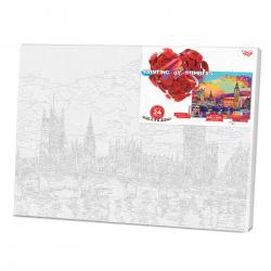 Картина по номерам Danko Toys PAINTING BY NUMBERS Лондон 40 х 50 см, ДТ-ОО-09215