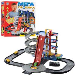 Детский игровой гараж Metr + Мега парковка 4 этажа, 922-7