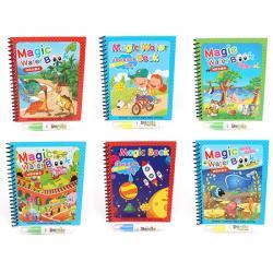Книжка для рисования Magic water book Bambi 80843-5-6-7-9-0