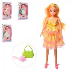 Кукла 27см, сумочка L0464