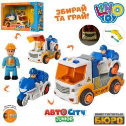 Конструктор на шурупах Limo Toy Транспорт, KB 068