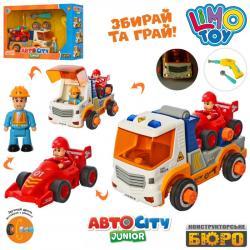 Конструктор на шурупах Limo Toy Транспорт, KB 069