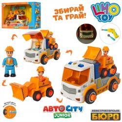 Конструктор на шурупах Limo Toy Транспорт, KB 070