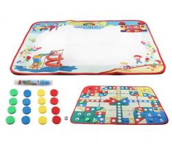 Коврик для рисования водой 2 в 1 Magic Kids настольная игра, 127020-M