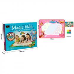 Коврик для рисования водой 2 в 1 Magic Kids настольная игра, 127023-M