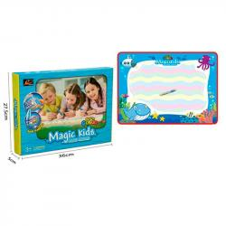 Коврик для рисования водой Magic Kids Морские жители 78х56см, 127012-L
