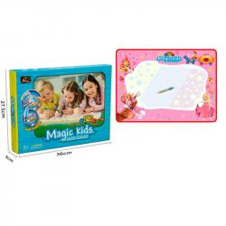 Коврик для рисования водой Magic Kids Принцесса 78х56см, 127013-L
