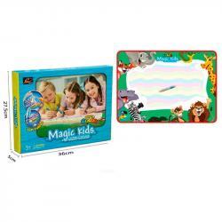 Коврик для рисования водой Magic Kids Зверушки 78х56см, 127011-L