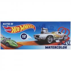 Краски акварельные 12 цветов Hot Wheels Kite HW21-041