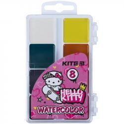 Краски акварельные 8 цветов  Hello Kitty  Kite  HK21-065