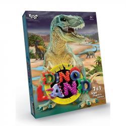Креативное творчество Danko Toys Dino Land 7 в 1, ДТ-ОО-09302