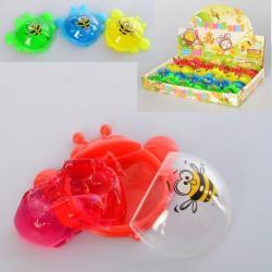 Лизун желейный, пчелка, баночка с крышкой MK 4280