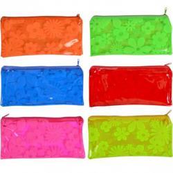 Пенал COLOR-IT Цветы силикон неоновый 23560-1