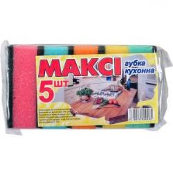 Губка для мытья посуды Макси №5