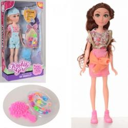 Кукла 27см., Бисер, расческа, BLD207