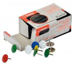 Кнопки NORMA 50шт. разноцветные никель 4839