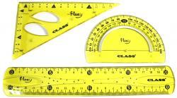 Набор линеек  неломайка  Flexy Class 9021