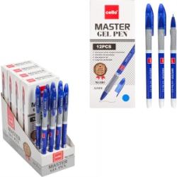 Ручка гелевая Cello Master 0,5мм CL-1801 синяя