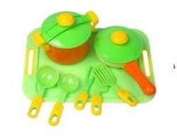 Посуда 10 предметов 04-427 KW