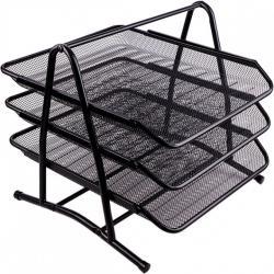 Лоток Color-it горизонтальный металлический черный 2003/1087-BI