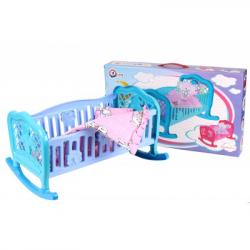 Кроватка для куклы Технок 4524