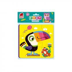 Мягкие пазлы 2в1 Vladi Toys Птички RK6580-03
