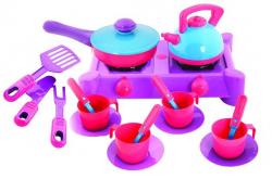 Плита с посудой 20 предметов 04-413 KW