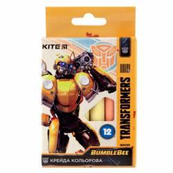 Мел цветной 12 шт.  Transformers  Kite TF19-075