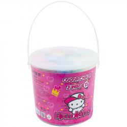 Мел Kite Jumbo Hello Kitty 15 шт. цветной в ведре HK21-074