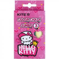 Мел Kite Jumbo Hello Kitty 3 шт. цветной HK21-077