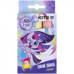 Мел Kite Jumbo My Little Pony 3 шт. цветной LP21-077