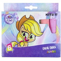 Мел Kite Jumbo My Little Pony 6 шт. цветной LP21-073
