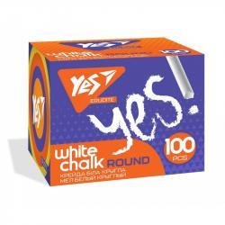 Мел YES Erudite 100 шт. белый 400443
