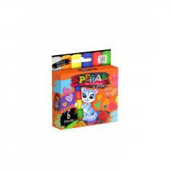 Мелки для рисования на асфальте Danko Toys 6шт. тонкие ДТ-МЛ-15-16