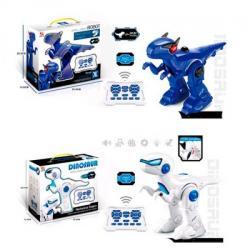 Динозавр на радиоуправлении 30см (аккумулятор, USB зарядное, программа, звук англ., Свет), 2629-T15-