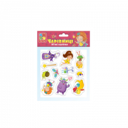 Мягкие наклейки Vladi Toys Чародейки VT4210-03
