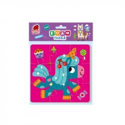 Мягкие пазлы 2в1 Vladi Toys Единорожки RK6580-02