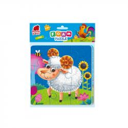 Мягкие пазлы 2в1 Vladi Toys Ферма RK6580-04