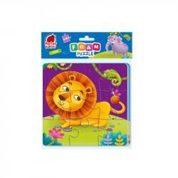 Мягкие пазлы 2в1 Vladi Toys Zoo RK6580-05