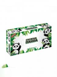 Косметические салфетки 150шт Снежная Панда