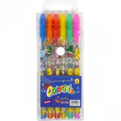 Набор гелевых ручек COLOR-IT 6 цветов 0,7мм 805-6